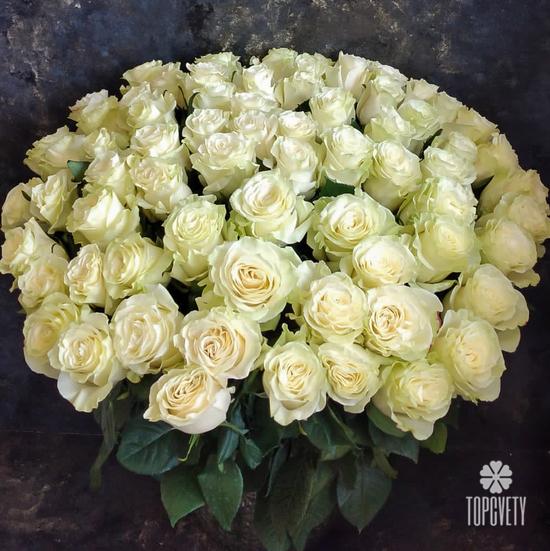 букет белых роз доставка